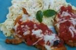 Chicken Parmigiana & Fettuccine Alfredo