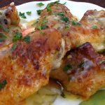Crispy Wings In Garlic Butter Sauce