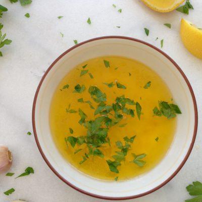 Wings In Lemon Garlic Butter Sauce