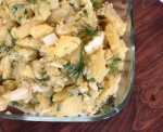 Rustic Potato and Egg Salad Recipe