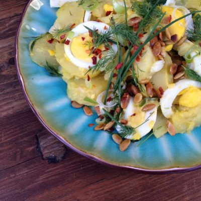 Rustic Potato and Egg Salad Recipe