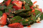 Spinach and Strawberry Salad Recipe