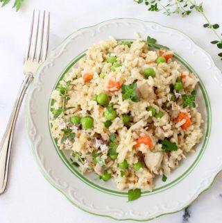 chicken rice pilaf