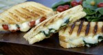 Tomato Basil & Fontina Grilled Cheese Funwich