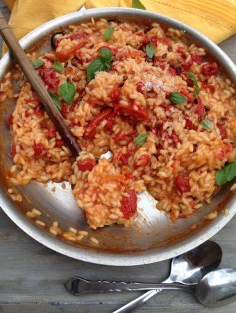 Sun Dried Tomato Risotto Recipe
