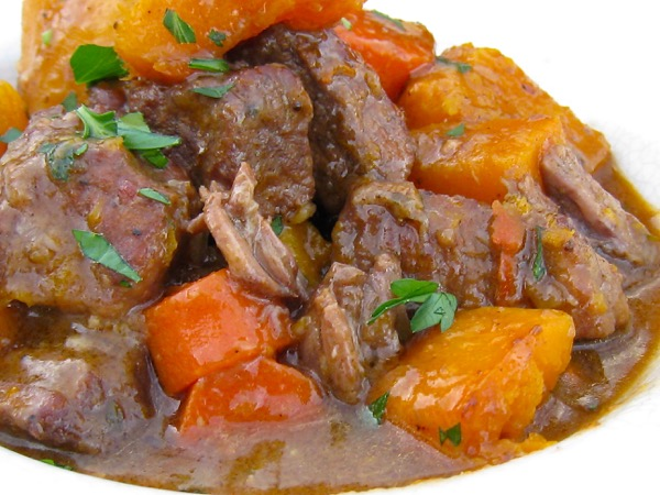 Blood Orange Beef and Butternut Squash Stew Recipe