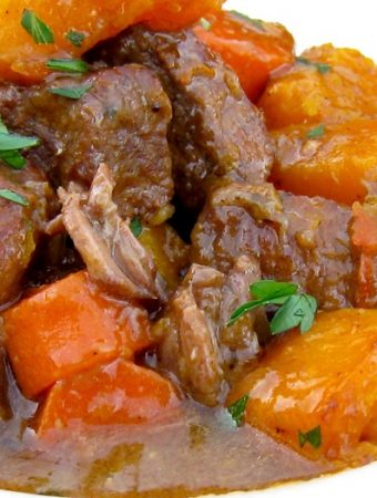 Beef and Butternut Squash Stew Recipe