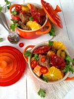 Blood Orange Beef Stew with Butternut Squash