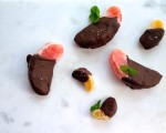 Chocolate Covered Orange Slices Treats