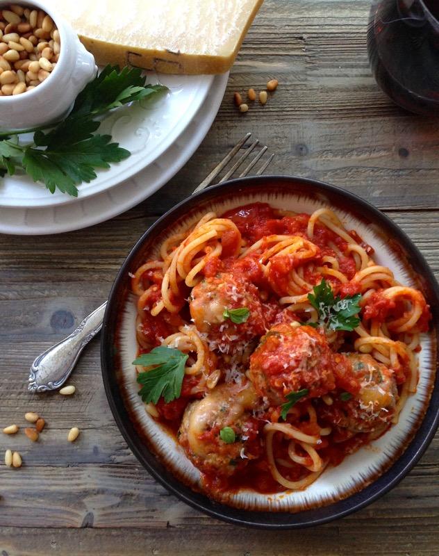 Fontina Cheese Meatballs Recipe