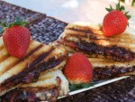 Chocolate, Strawberry and Brie Cheese Funwich