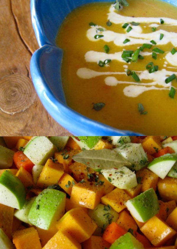 Roasted Butternut Squash Apple Soup • CiaoFlorentina