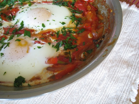 Eggs In Purgatory With Asparagus Recipes — Dishmaps