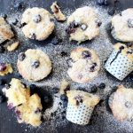 blueberry ricotta muffins
