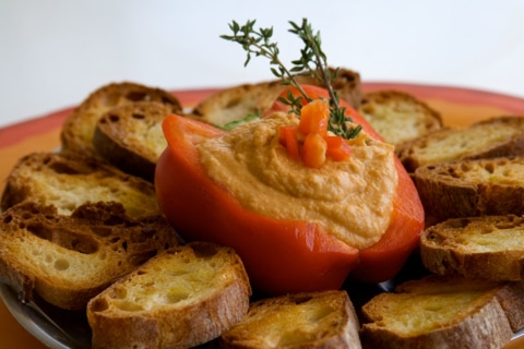 Chick Pea And Roasted Pepper Dip Recipes — Dishmaps