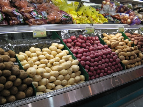 Potatoes at Supermarket Potato Varieties and How To cook Them
