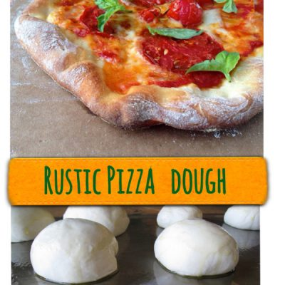 Rustic Italian Pizza Dough Recipe