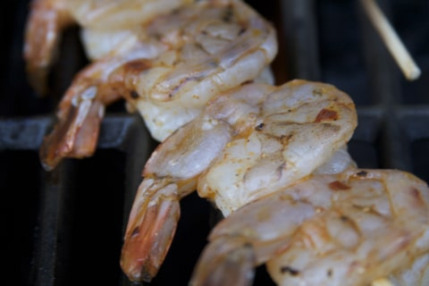 Shrimp on Skewers Grilled Shrimp Recipe