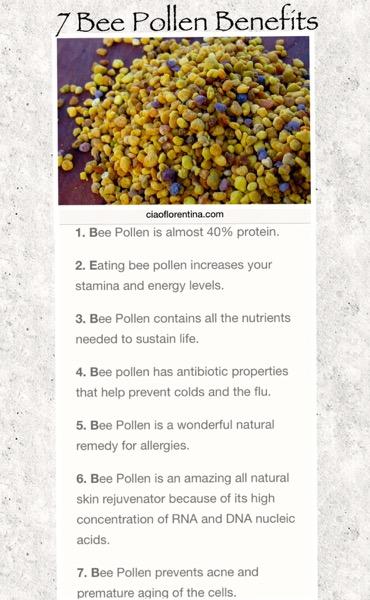 7 Reasons To Eat Bee Pollen