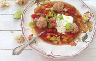 Meatball Soup Recipe or Cioarba de Perisoare