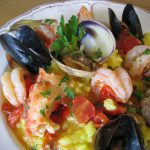 Bowl of Seafood Risotto