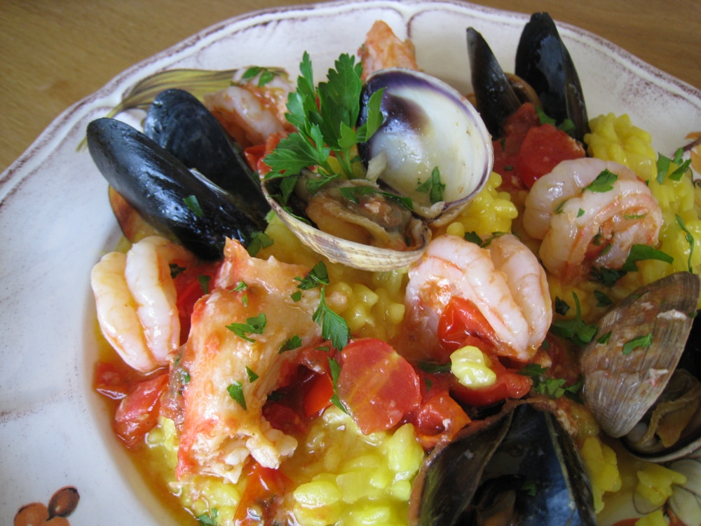Seafood Risotto Recipe ( Frutti di Mare )