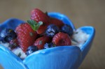 Creamy Rice Pudding Risotto with Berries Recipe