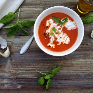 Creamy San Marzano Tomato Soup Recipe