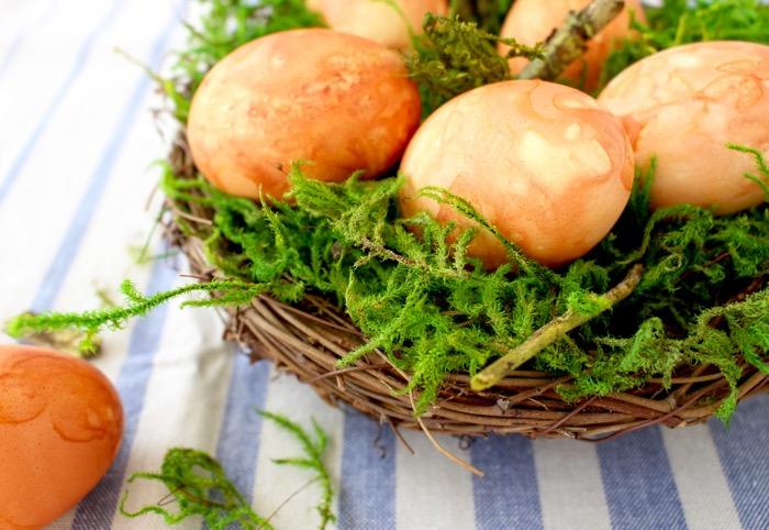Homemade Easter Eggs