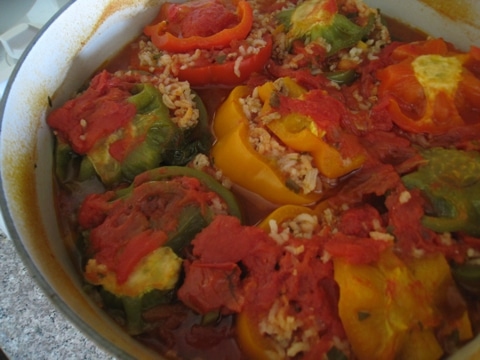 StuffedBellPeppers Stuffed Bell Peppers Recipe