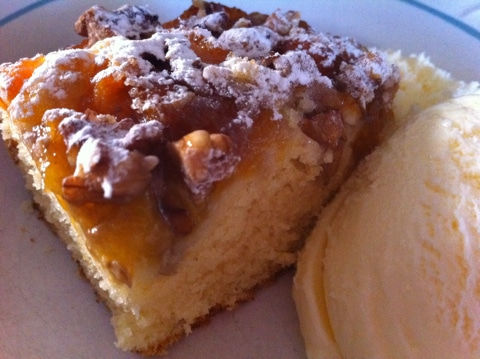 Apricot Walnut Slice An Apricot Walnut Delight!