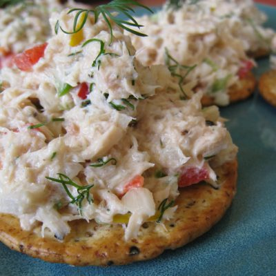 Tuna Appetizers and my Labor Day Recipe List