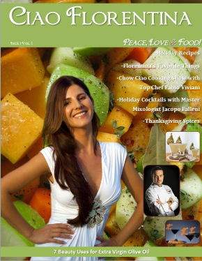Hot Off The Press – the Ciao Florentina Food Magazine