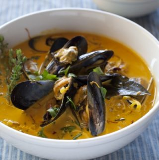 mussel soup recipe