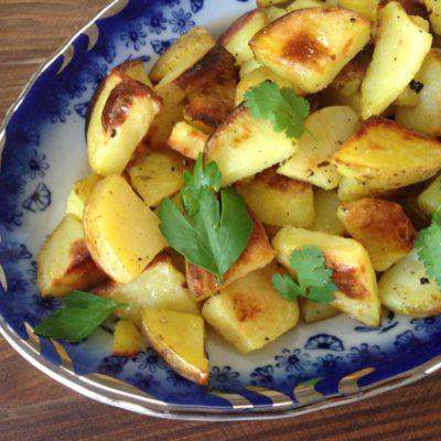 Golden Rustic Baby Potatoes Recipe