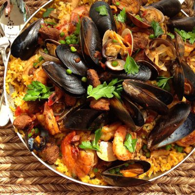 Paella Risotto Recipe