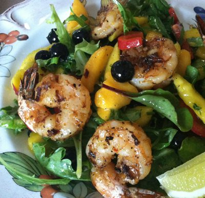 Mango Shrimp Salad Recipe
