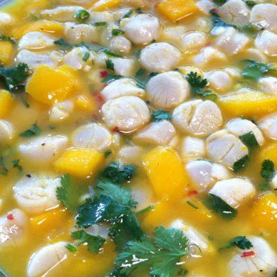 Scallop Mango Ceviche Recipe