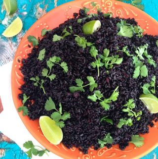 Black Lime Rice Recipe