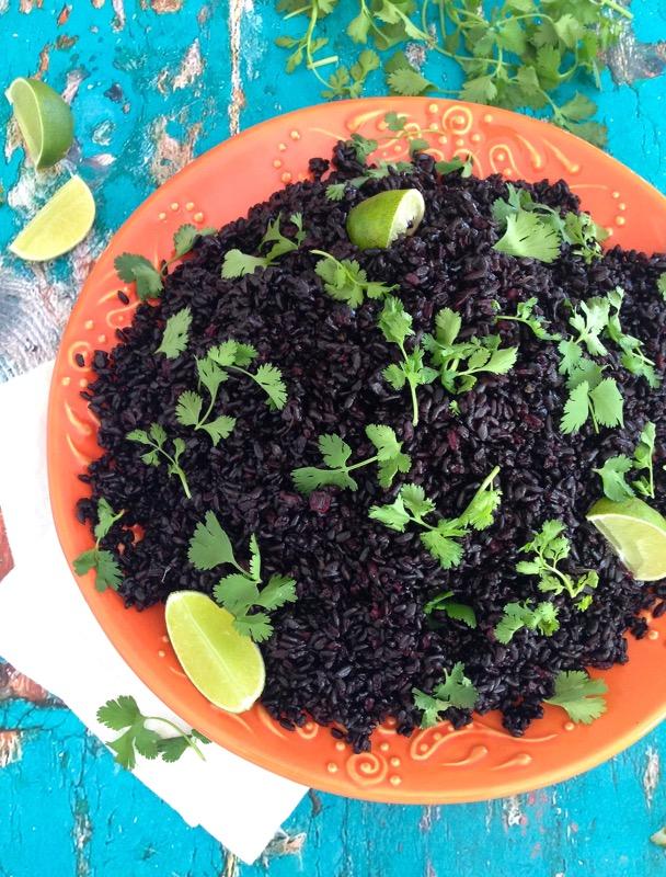Black Lime Rice Recipe