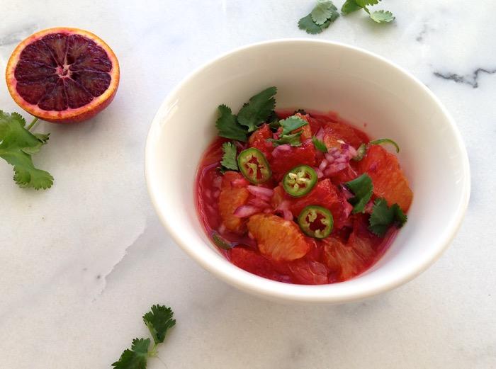 Orange Salsa Recipe