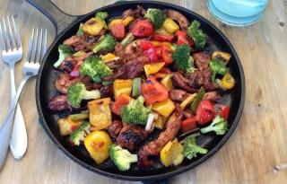 Pork Tenderloin Teriyaki Recipe