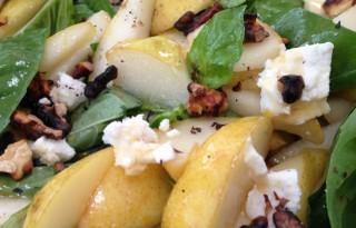 Basil Pear Salad