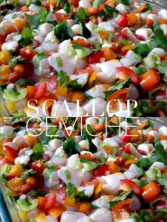 Scallop Ceviche Recipe