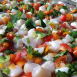Tomato Scallop Ceviche Recipe