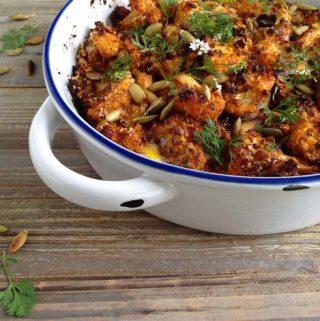 Crispy Roasted Cauliflower Recipe
