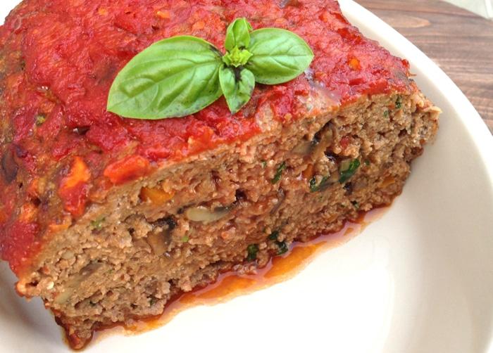 Mushroom MeatLoaf Recipe • CiaoFlorentina