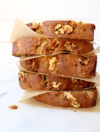 Ricotta Banana Nut Bread Recipe