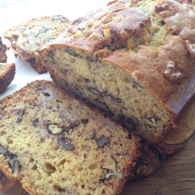 Ricotta Banana Nut Bread Recipe (Walnut Bread Recipe)