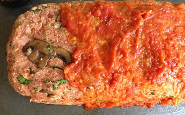 Mushroom meatloaf recipe